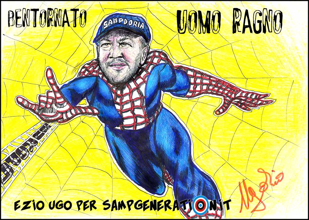 BENTORNATO UOMO RAGNO