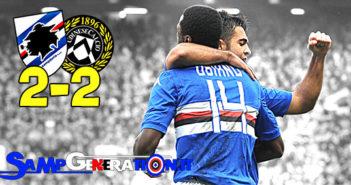 Samp Udinese 2 2