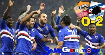 Roma Sampdoria 0 2