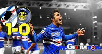 Sampdoria inter 1 0