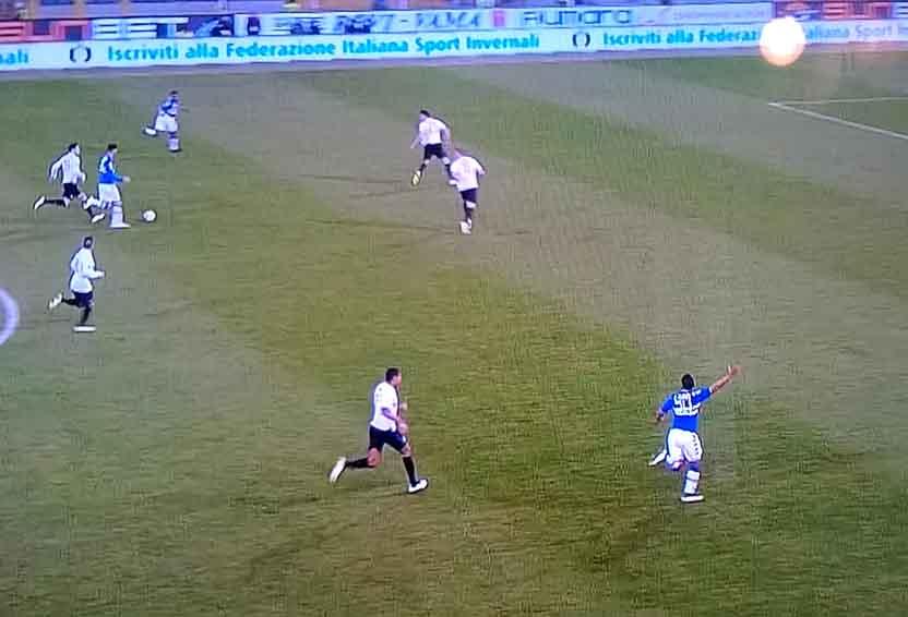 Soriano punta la difesa dell'Inter e ignora Muriel solo sull'esterno destro