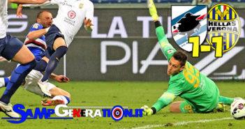 Sampdoria Verona 1 1