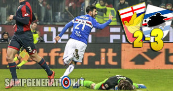 Genoa Samp 2 3