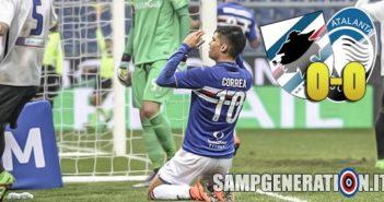 Samp Atalanta 0 0