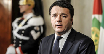 Renzi pensa al paese
