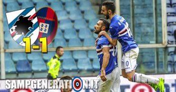 Samp Cagliari 1 1