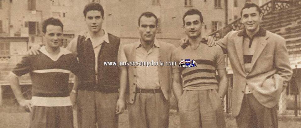 1946, Fabbri, Bassetto, Baldini, Fiorini, Frugali.